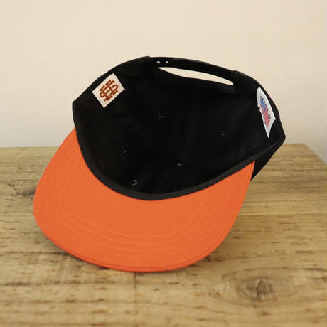 SEE SEE LOGO CAP BLK/ORANGE(AWAY)
