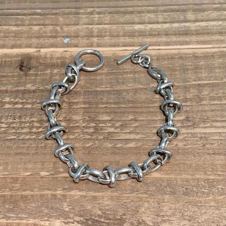 Vintage Sterling Silver Mexican Bracelet【SS19-2MJ-8】(N)
