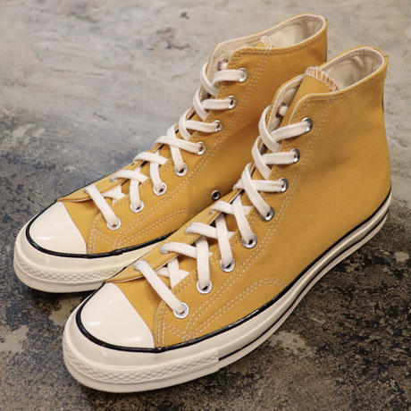 CONVERSE  コンバース  CHUCK TAYLOR ALL STAR '70-HI SUNFLOWER/BLACK/EGRET 162054C  CT70 (N)