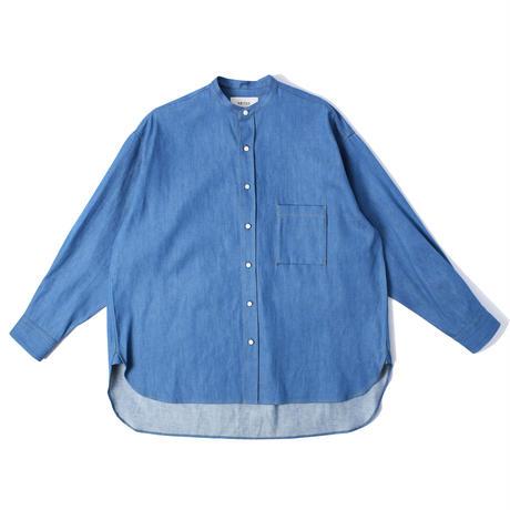 UNITUS(ユナイタス) Cigarette Pocket Shirt Blue【UTSFW21-S04】(N)