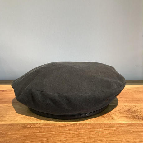 SOLARIS HATMAKERS & Co. COTTON BERET CAP B.PANTHER Black【SH-18SS-06】(N)