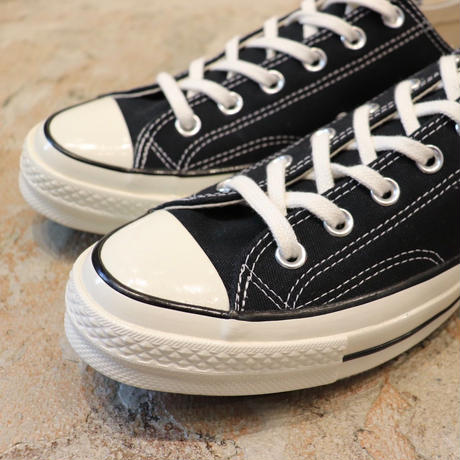 CONVERSE  コンバース  CHUCK TAYLOR ALL STAR '70-OX  BLACK/BLACK/EGRET 162058C  CT70 (N)