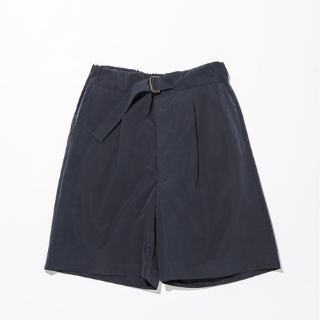 UNITUS(ユナイタス) SS17 Belted Easy Shorts Navy