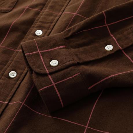 S.F.C SFC SHIRT Chocolate Pink Check【SFCFW21S01】(N)