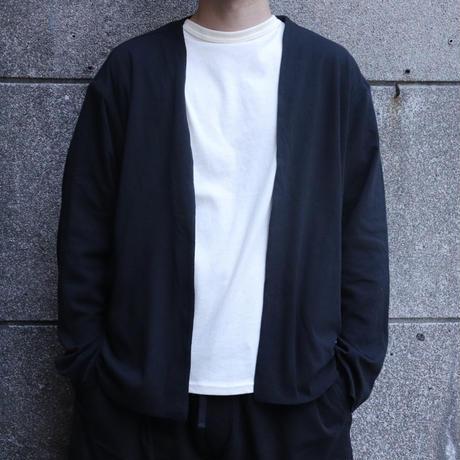 NOW HAW ノウハウ  Twilight w face cardigan Black【P-TW19-O】(N)