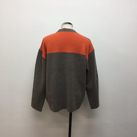 UNITUS(ユナイタス) FW18 Milan Rib Crew Grey Orange 【UTSFW18-K02】(N)