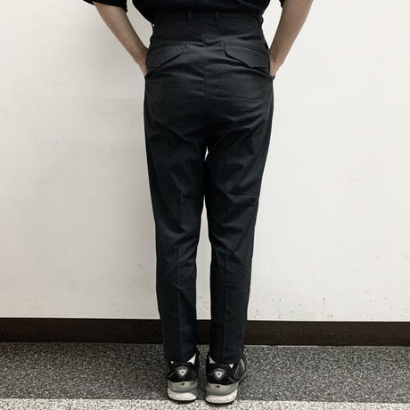 UNITUS(ユナイタス) SS17 Peg top Pants with side zip Navy【UTSSS17-P02】