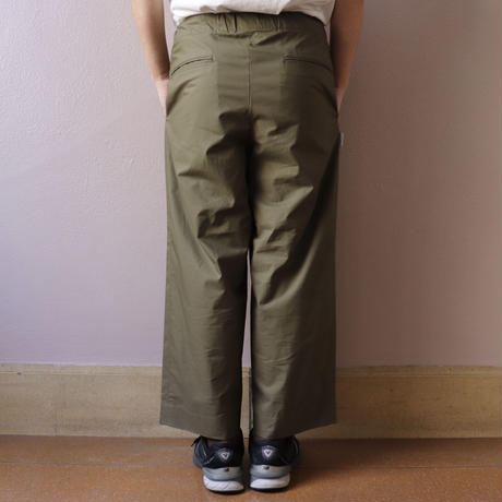 S.F.C  SS20 SFC STRAIGHT PANTS Wild Green【SFCSS20P01】(N)