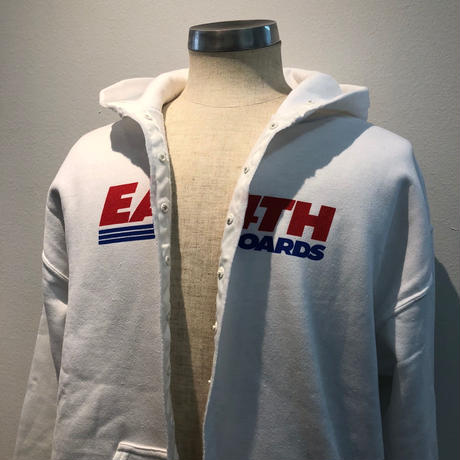 EAST 4th Skate LOCAL SNAP HOODIE WHITE
