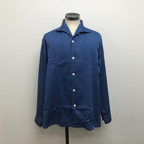 SOWBOW  SBSH01-02 蒼氓シャツA  ONE PIECE COLLAR LT INDIGO(N)