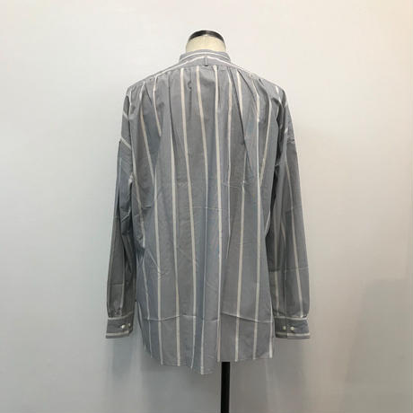 UNITUS(ユナイタス) SS18 Pullover Shirts (Striped) Sax Stripe【UTSSS18-S05】(N)
