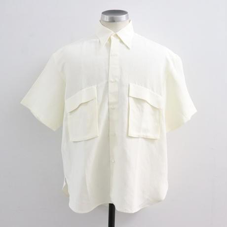 UNITUS(ユナイタス) P&F Half Sleeve Shirt White【UTSSS20-S09】(N)