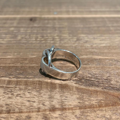Hermès Vintage(エルメス ヴィンテージ)  Sterling Silver Ring【SS19-2VH-9】9号(N)