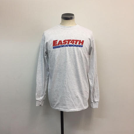 (C) EAST 4TH LOGO  L/S TEE(ASH)