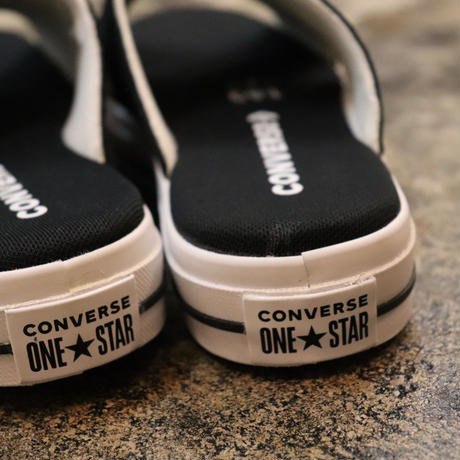 CONVERSE コンバース ONE STAR SANDAL SLIP BLACK/EGRET/WHITE 564143C