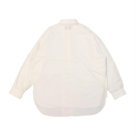 UNITUS(ユナイタス) Paneled Darby Shirt White【UTSSS21-S08】(N)