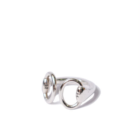 Hermès Vintage(エルメス ヴィンテージ) Nausicaa Ring【Hermès ‑ R579】9号(N)