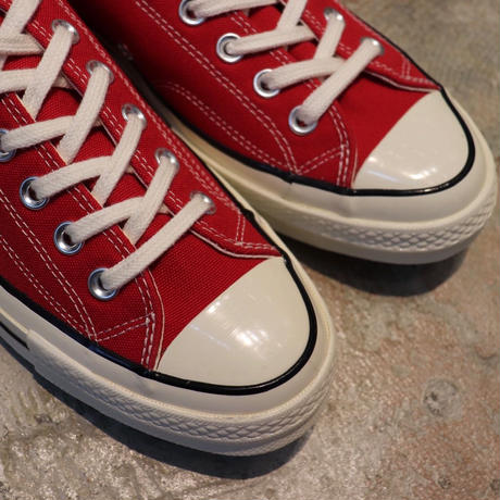 CONVERSE コンバース CHUCK TAYLOR ALL STAR '70-OX  ENAMEL RED/EGRET/BLACK 164949C CT70