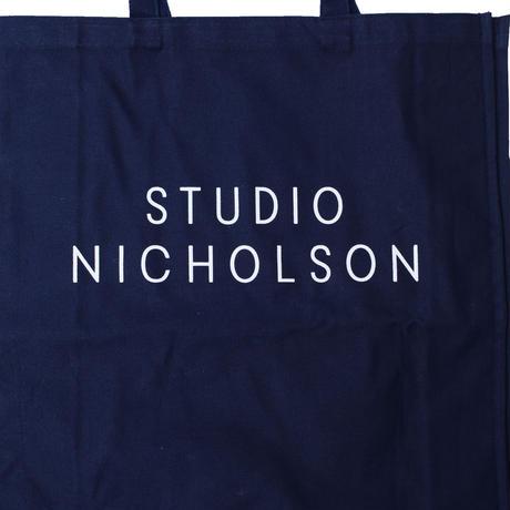 STUDIO NICHOLSON スタジオニコルソン STANDARD TOTE DARK NAVY【SNW-217】(N)