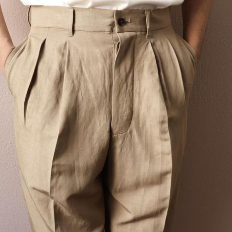 UNITUS(ユナイタス) Cropped Pants Beige【UTSSS20-P01】(N)