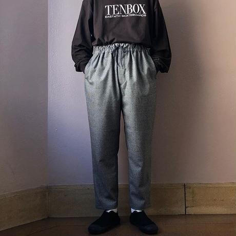 UNITUS(ユナイタス) FW18 Tapared Easy Pant Glen Check【UTSFW18-P05】(N)