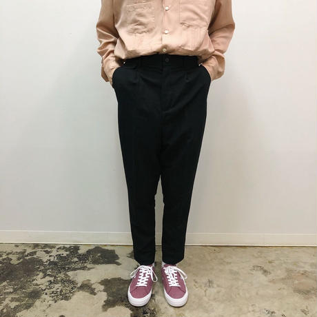 UNITUS(ユナイタス) SS18 Peg Top Pants Black【UTSSS18-P05】(N)
