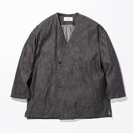 UNITUS(ユナイタス) SS17 Denim Shirts Cardigan Indigo