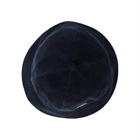 "SOLARIS & Co. PILE BUCKET HAT  ""BADBOY"" INK BLK【21SS01001】(N)"