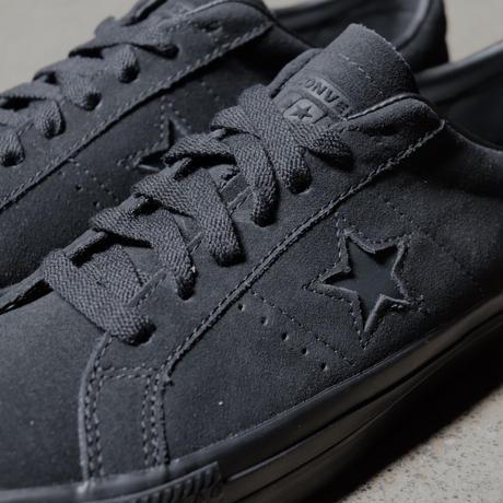CONVERSE CONS ONE STAR PRO OX 166839C  BLACK/BLACK/BLACK