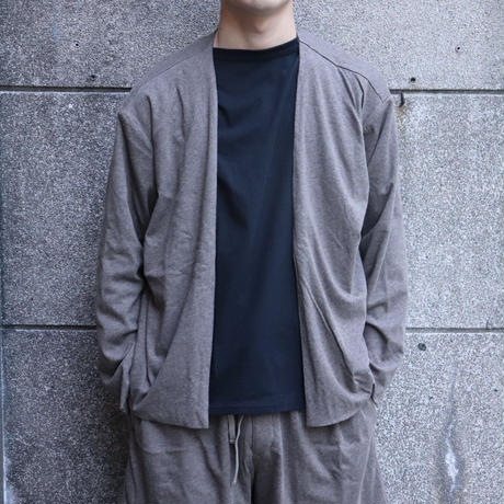 NOW HAW ノウハウ  Twilight w face cardigan Brown【P-TW19-O】(N)