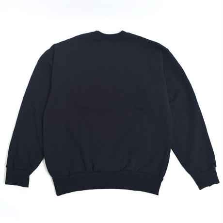VIRGIL NORMAL 【VVN065】バージルノーマル  NEON CREW SWEAT BLACK