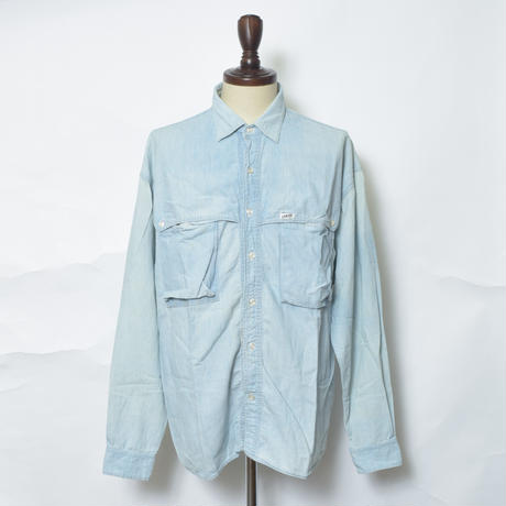 【PIGU HOUSE  VINTAGE】GUESS デニムシャツ【No,26】