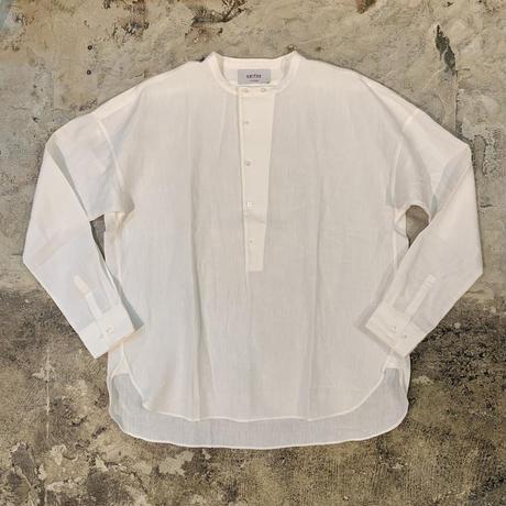UNITUS(ユナイタス) SS17 Linen Pullover Shirts White【UTSSS17-S03L】