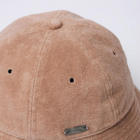 """SOLARIS & Co. PILE BUCKET HAT  """"BADBOY"""" CHINESE PINK【21SS01001】(N)"""