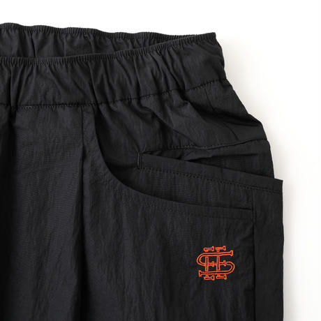 SEE SEE TAPERED EASY WIDE PANTS LIMONTA Black