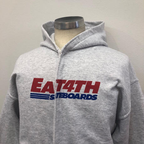EAST 4th Skate LOCAL SNAP HOODIE ASH