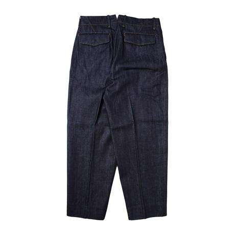UNITUS(ユナイタス) Center Darts Pants Indigo【UTSSS21-P07】(N)