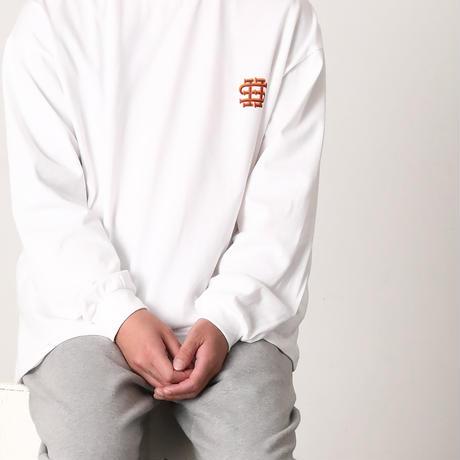 SEE SEE 逆プリ ロゴ ロンT WHITE