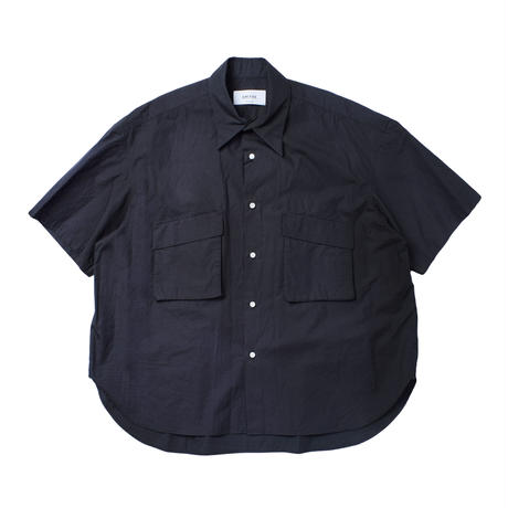 UNITUS(ユナイタス) Patch & Flap Half Sleeve Shirt Sumi【UTSSS21-S09】(N)