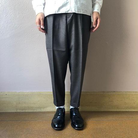 UNITUS(ユナイタス) FW18 2Tucks Pant Grey Beige【UTSFW18-P02】(N)
