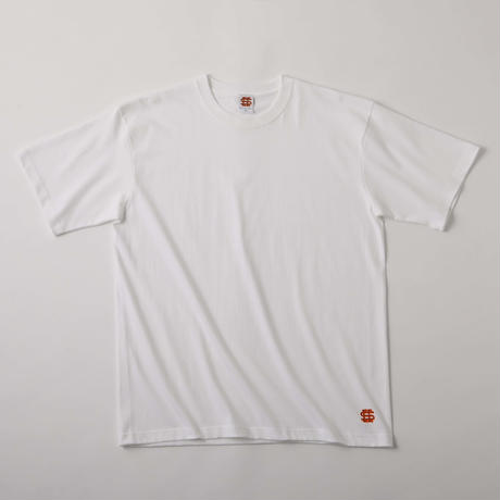 SEE SEE DAILY LOGO S/S TEE WHITE(N)