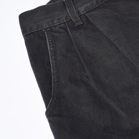 mfpen(エムエフペン) BIGGER JEANS BLACK【AW21-70】(N)