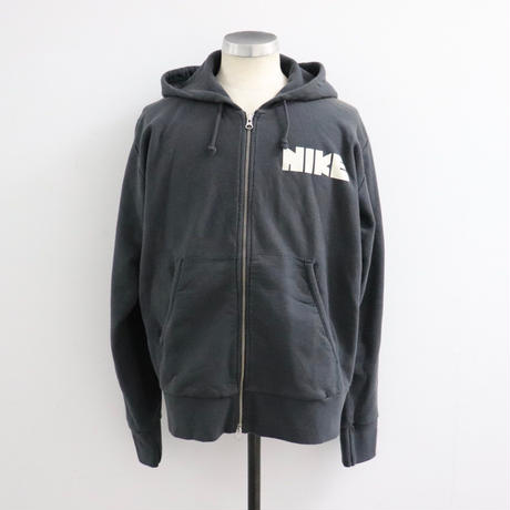 NIKE WHITE LABEL ナイキ ホワイトレーベル ZIP HOODY BLACK(N)