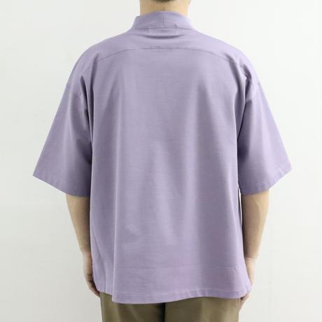 UNITUS(ユナイタス) Mock Neck Tshirt Purple【UTSSS20-CS02】(N)