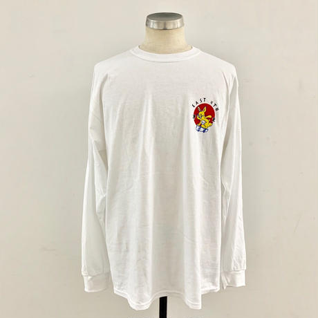 EAST 4TH SKATE BUNNY L/S TEE WHT(N)