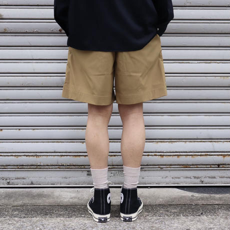 SOLARIS&Co.(ソラリスアンドコー)  SOLOTEX EASY SHORTS BEIGE【S20SS-SR15】(N)