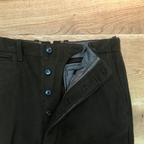 UNITUS(ユナイタス) FW18 Center Darts Pant Dark Green 【UTSFW18-P06】