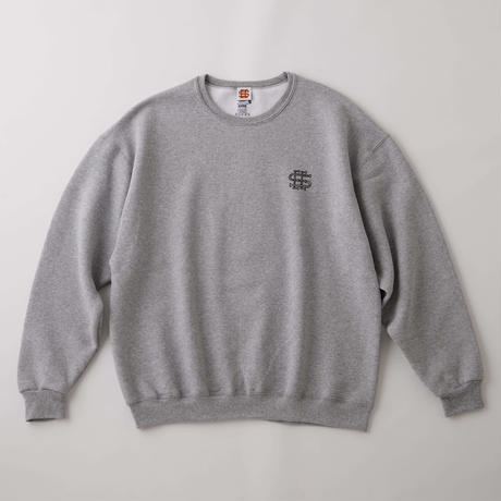 SEE SEE LOGO SWEAT SHIRT GREY(N)