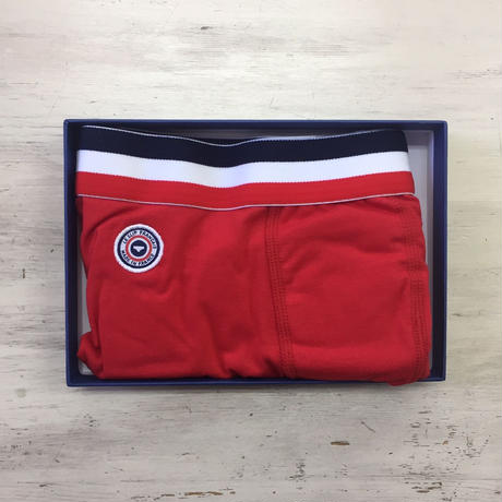 LE SLIP FRANÇAIS(ルスリップフランセ) Permanent Lycra Boxer Briefs【Red】