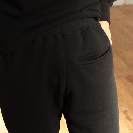 NOW HAW ノウハウ  wok sweat pants black【P-294-H】(N)
